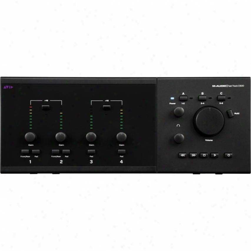 M-audio Fasttrack C600 Audio Interface