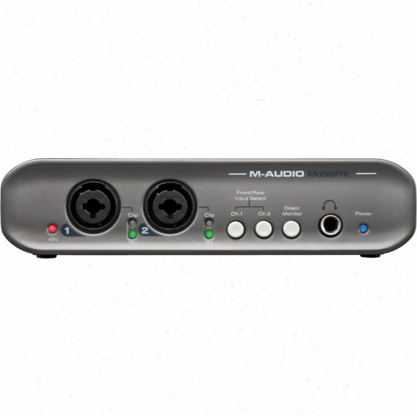 M-audio Mobilepre Usb Audio Interface - 99006000512