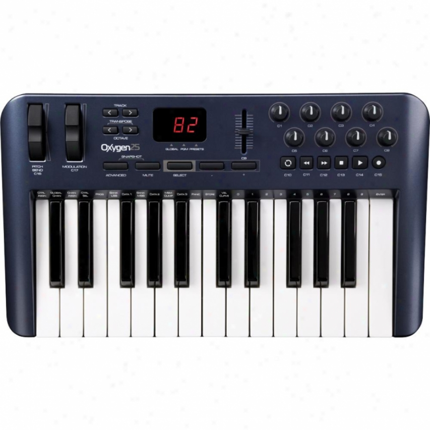 M-audio Oxygen 25 25-keyy Usb Midi Controller Keyboard