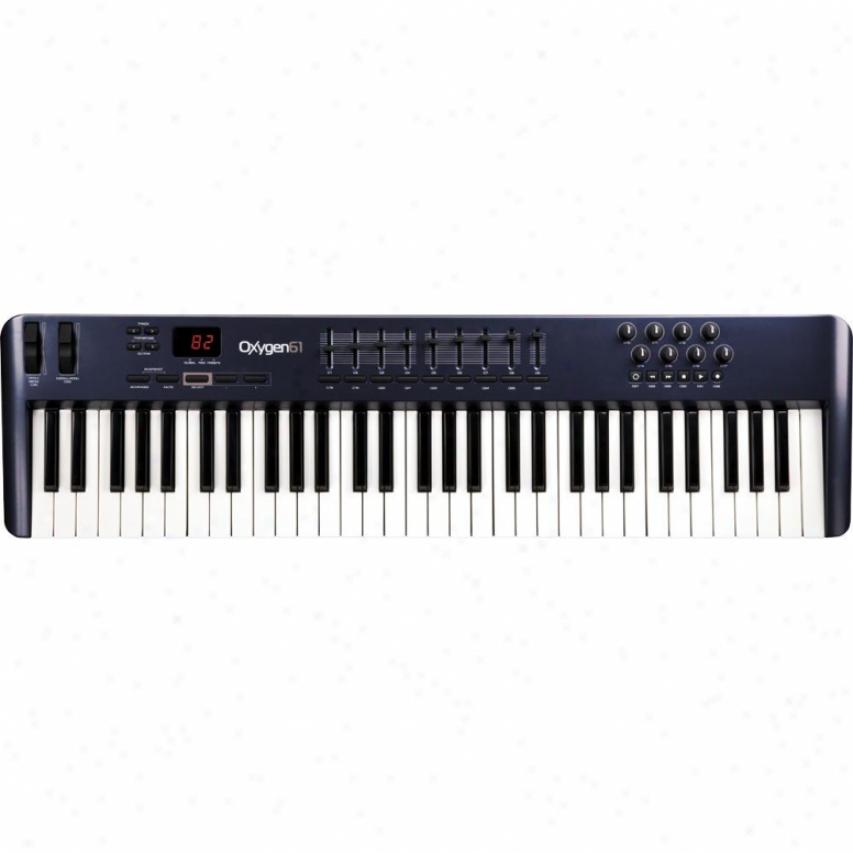M-audio Oxygen 61-key Usb Midi Music Keyboard Controller