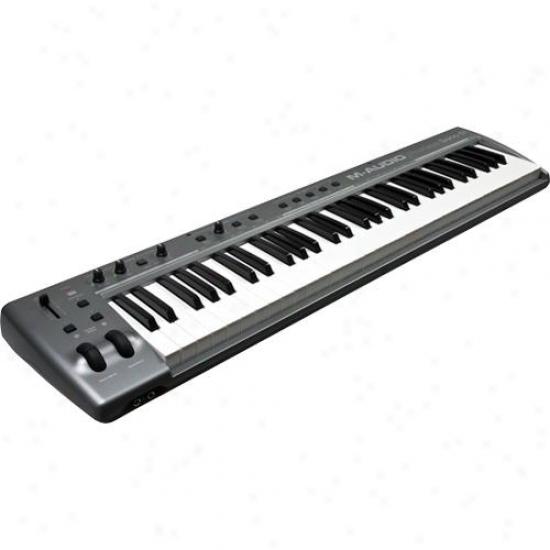M-audio Prokeys Sono 61 Portable Digital Piano With Usb Audio Interface