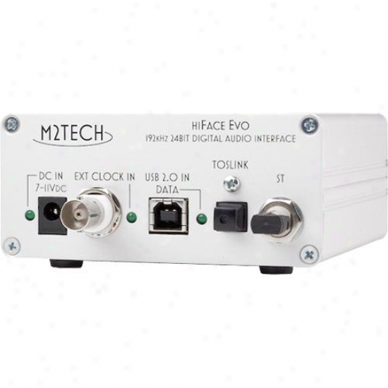 M2 Tech Hi-face Evo Usb To Spdif Converter
