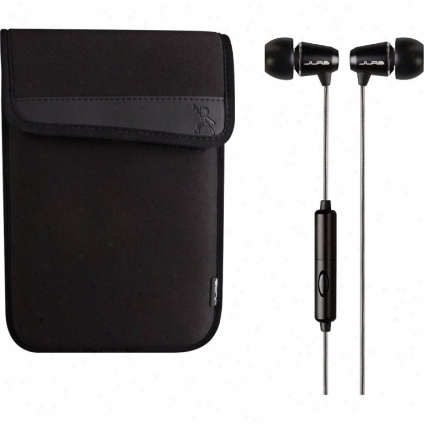 """Mach Speed 7"""" Case & Earbuds Bundle"""