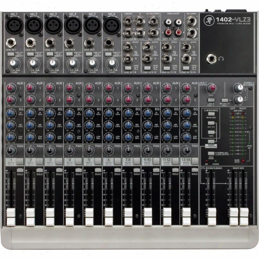 Mackie 1402-vlz3 14-channel Non-powered Mixer