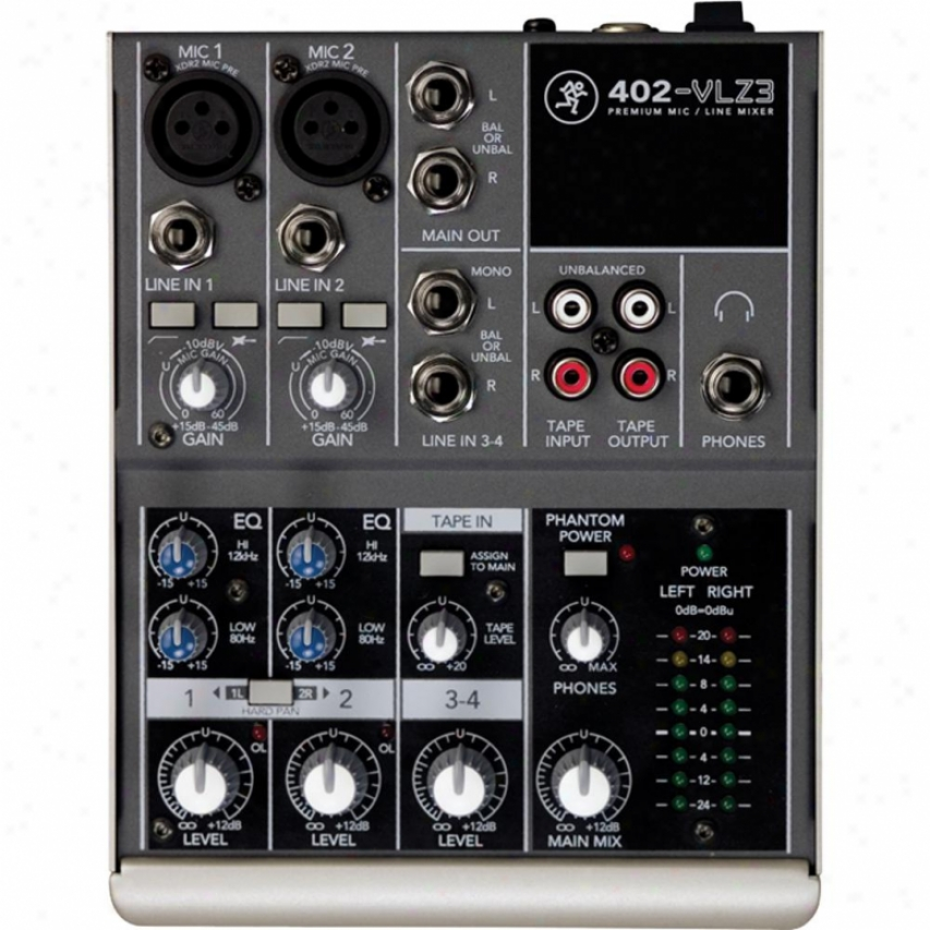 Mackie 402-vlz3 4-channel Non-powered Mixer