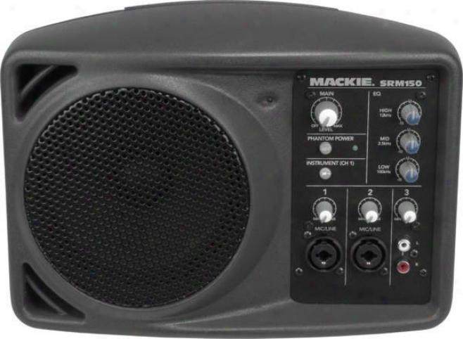 Mackie Compact Pa System 150 Watt Amplifier Srm150