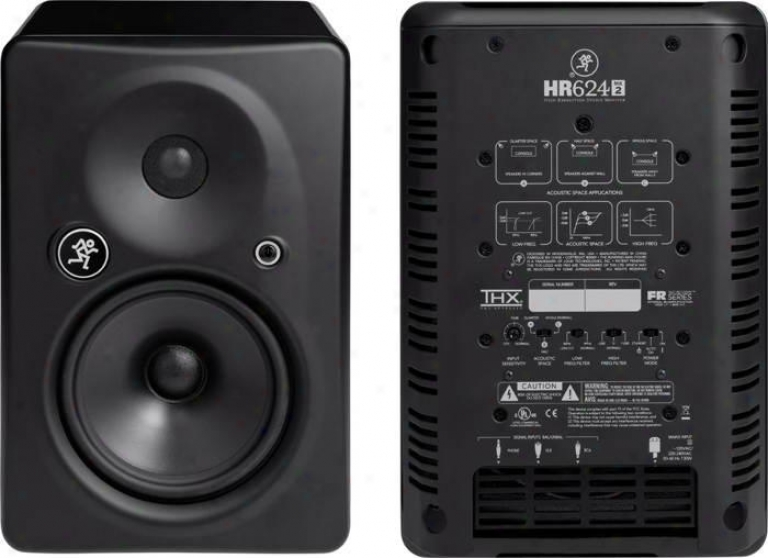 Mackie High Resolution Two-way Active Studio Reference Monitor (single)