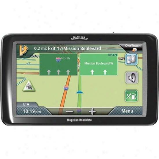 "Magellan Roadmate9 055lm 7"" Touchscreej Gps Navigatjon System With Lifetime Maps"