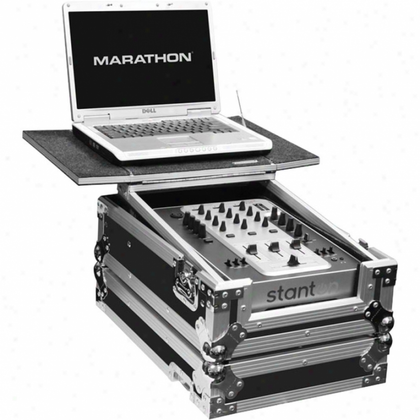 Marathon Pro 10-in Mixer Case W/sliding Out Front Panel & Sluding Back Top Shoal