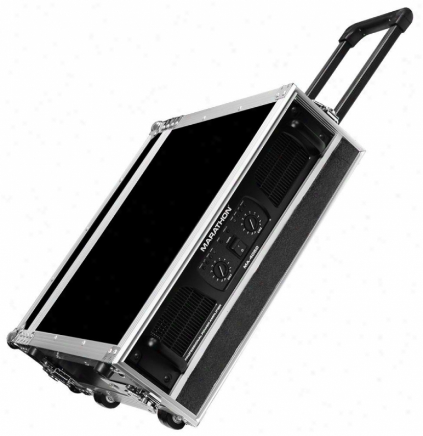 """Marathon Pro 2u Amplifier Deluxe Covering, 18"""" Body Depth W/pull-out Handle"""