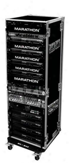 """Marathon Pro 33u Amplifier Deluxe Case - 18"""" Body Depth W/wheels"""