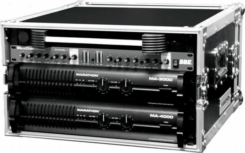 "Marathon Pro 6u Amplifier Deluxe Case - 18"" System Depth"