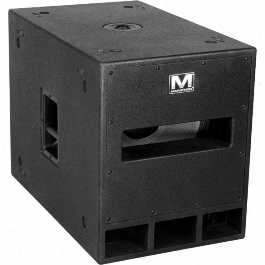 Marathon Pro 800 Watt High Power Active 15&qupt; Subwoofer System