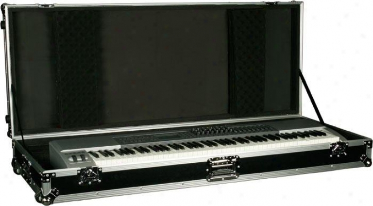Marathon Pro 88 Keyboard Case W/z-lock Foam & W/wheels