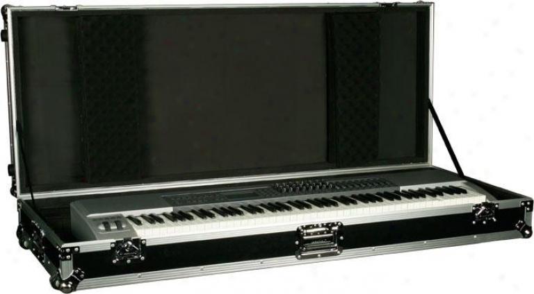 Marathon Pro 88 Keyboard Case W/z-lock Foam & W/wheels