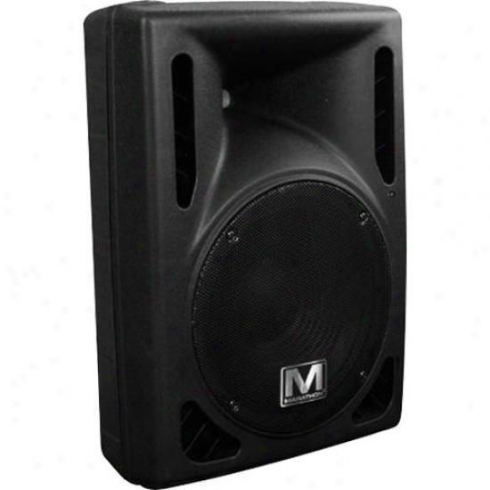 "Marathon Pro Active 12"" 2-way Loudspeaker Ma-sr412"
