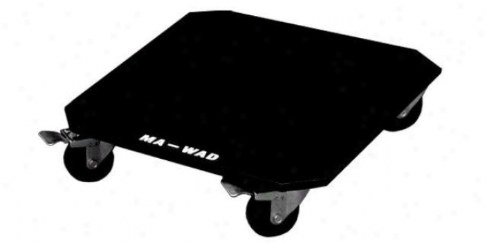 Marathon Pro Caster Kit W/breaks On Two Front Wheels - Economy Version