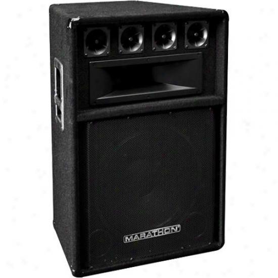 Marathon Pro Dj-115 3-way 15-inch Dj Speaker