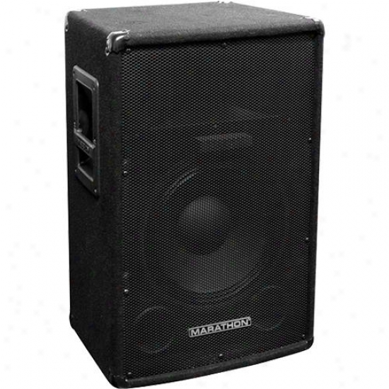 "Marathon Pro Dj-1502 Compact Single 15"" 2-way Trapezoid Loudspeaker"
