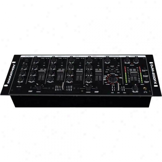 Marathon Pro Djm-200fx Professional 4-channel Mobile Dj / Club Mixer