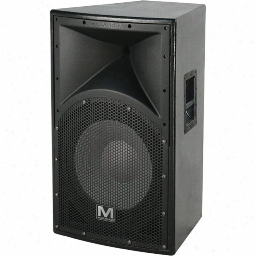 "Marathon Pro Ent-115v2 Texture Coated Particular 15"" Two-way Loudspeaker"