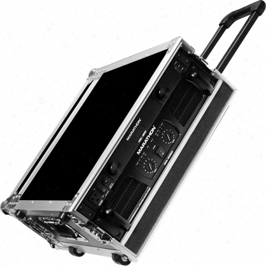Marathon Pdo Flying Ready Cases Ma-3uadhw 3u Amplifier Deluxe Case