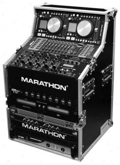 Marathon Pro Flight Ready Cases Ma-djws8 Dj Work Station