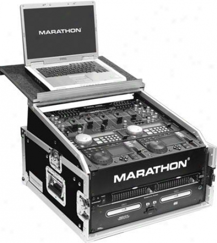 Marathon Pro Fleeing Ready Cases Ma-m3ult Combo Case W/laptop Shelf To Hold Up To
