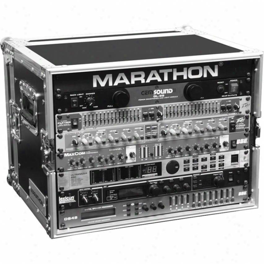 Marathon Pro Flight Ready Ma-10ued 10u Effect Deluxe Case