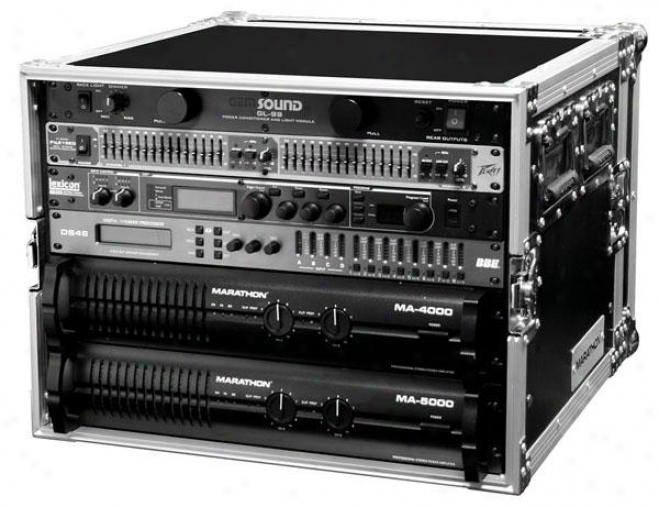 Marathon Pro Flight Ready Ma-8uad 8u Amplifier Deluxe Case