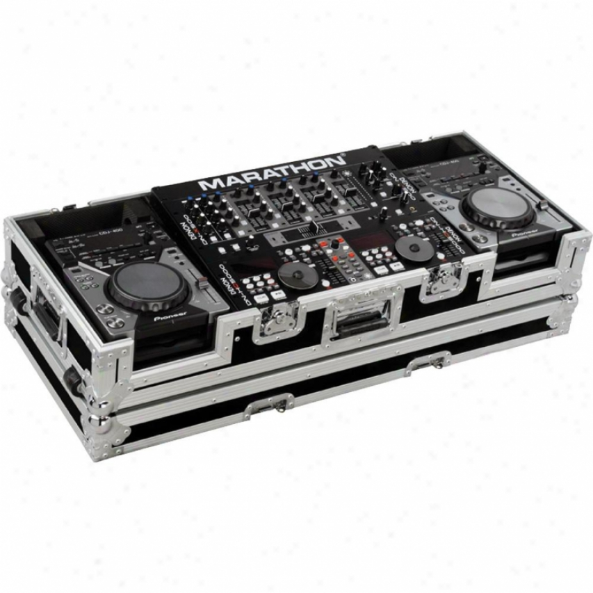 Marathon Pro Flying Ready Ma-cdj19w Coffin To Hold Any Compact Size Cd Player