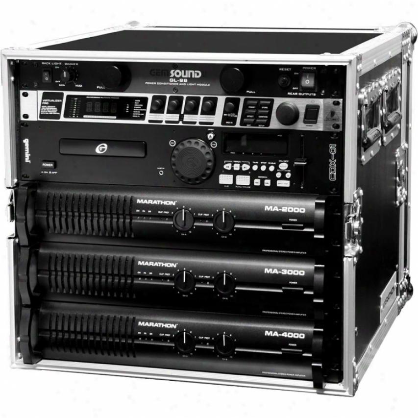 Marathon Pro Ma-10uad 10u Amplifier Deluxe Case