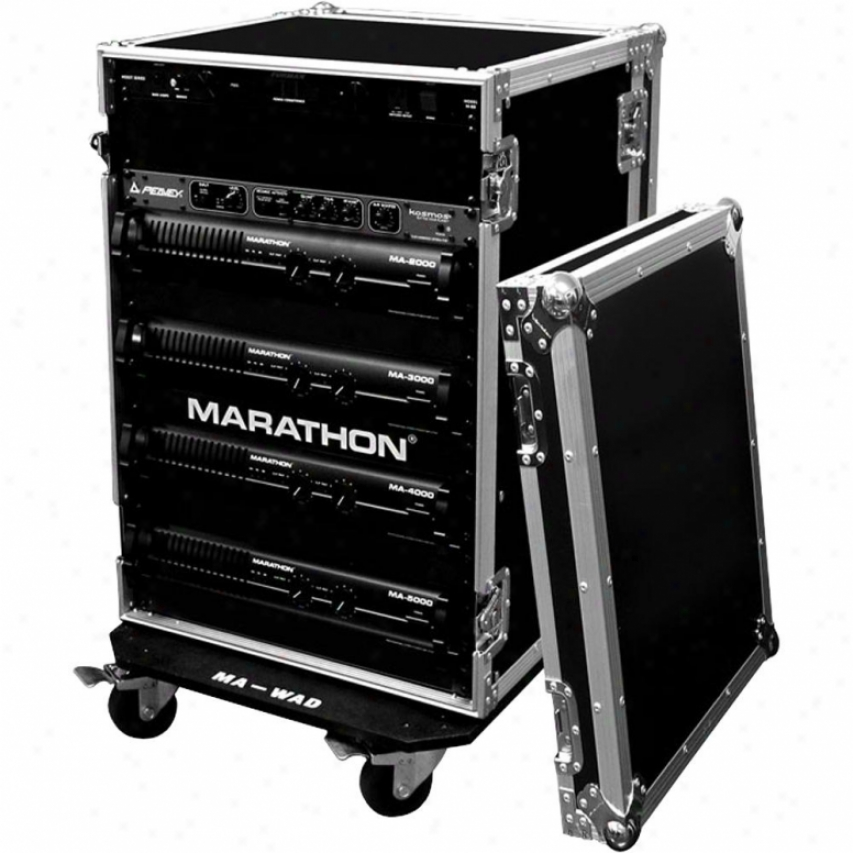 Marathon Pro Ma-20uadw 20u Amplifier Deluxe Case