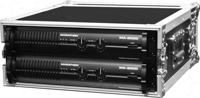 Marathon Pro Ma-4uad 4u Amplifier Deluxe Case