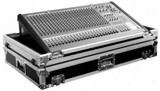 Marathon Pro Ma-m324w Mixing Console Case W/ Low Profile Wheels