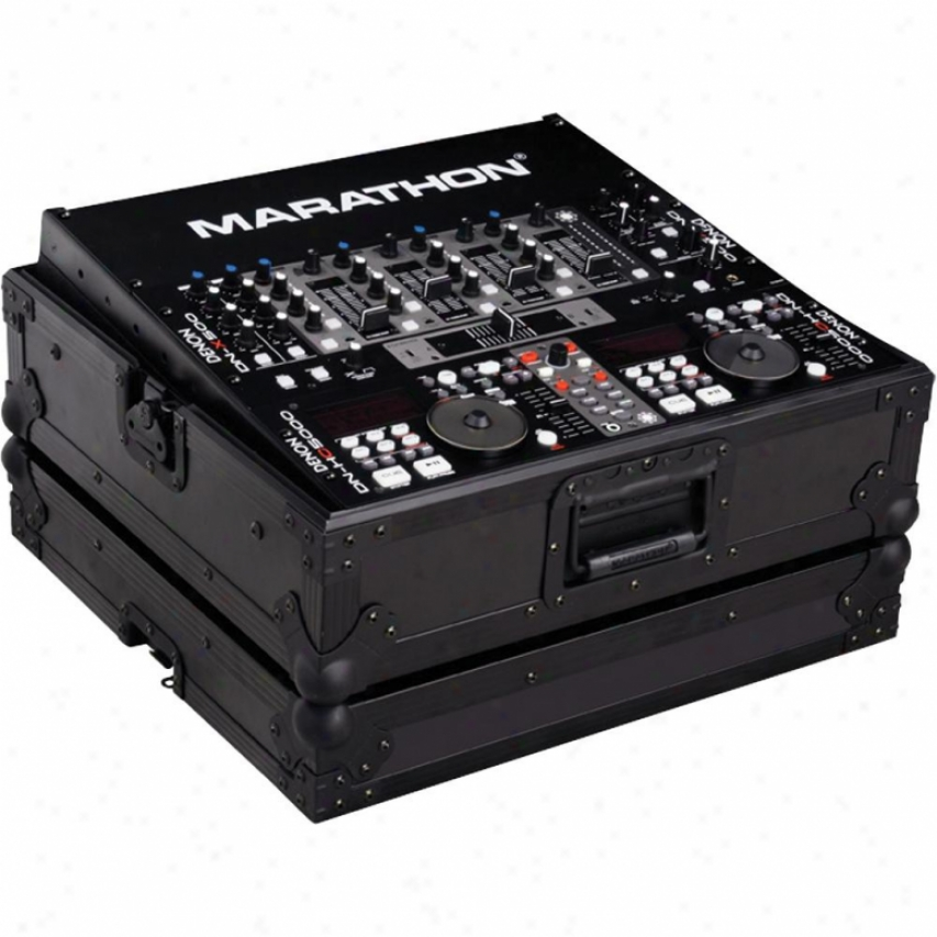 "Marathon Pro Marathon Flight Ready ""black Series"" Ma-19mixblk 19"" Dj Mixer Case"