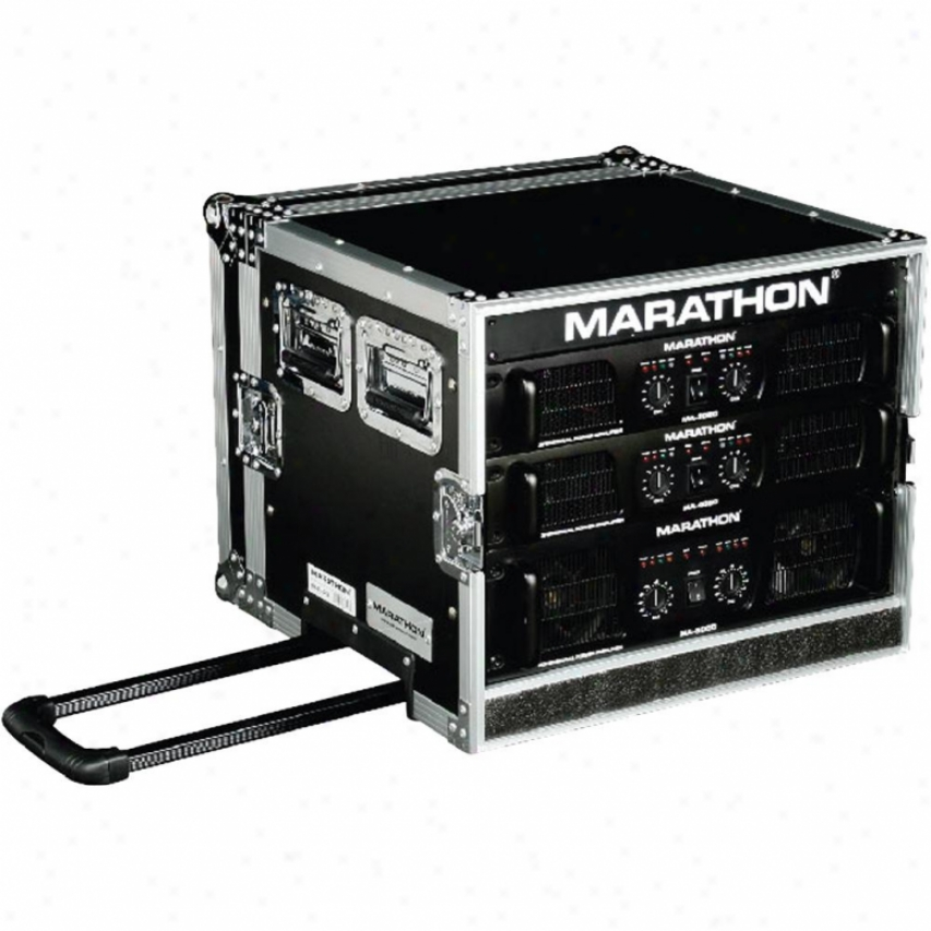 Marathon Pro Marathon Ma-8uadhw 8u Amplifier Deluxe Question Attending Handle & Wheels