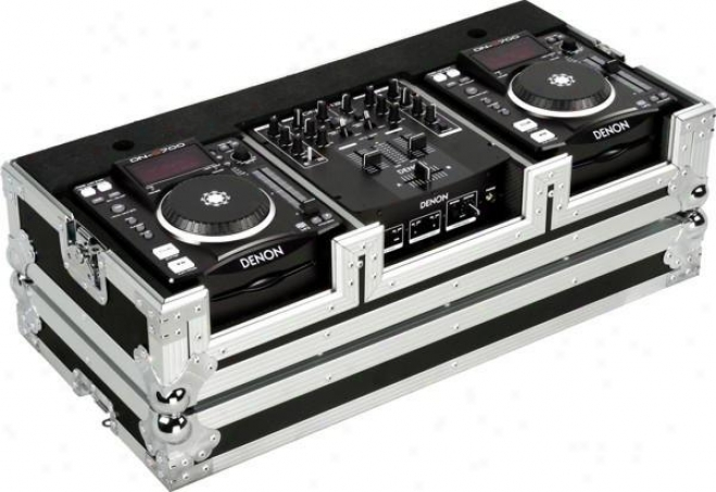 Marathon Pro Perfect Fit For 2 X Denon Dn-s1000 Plus Denon Dn-x100 Mixer