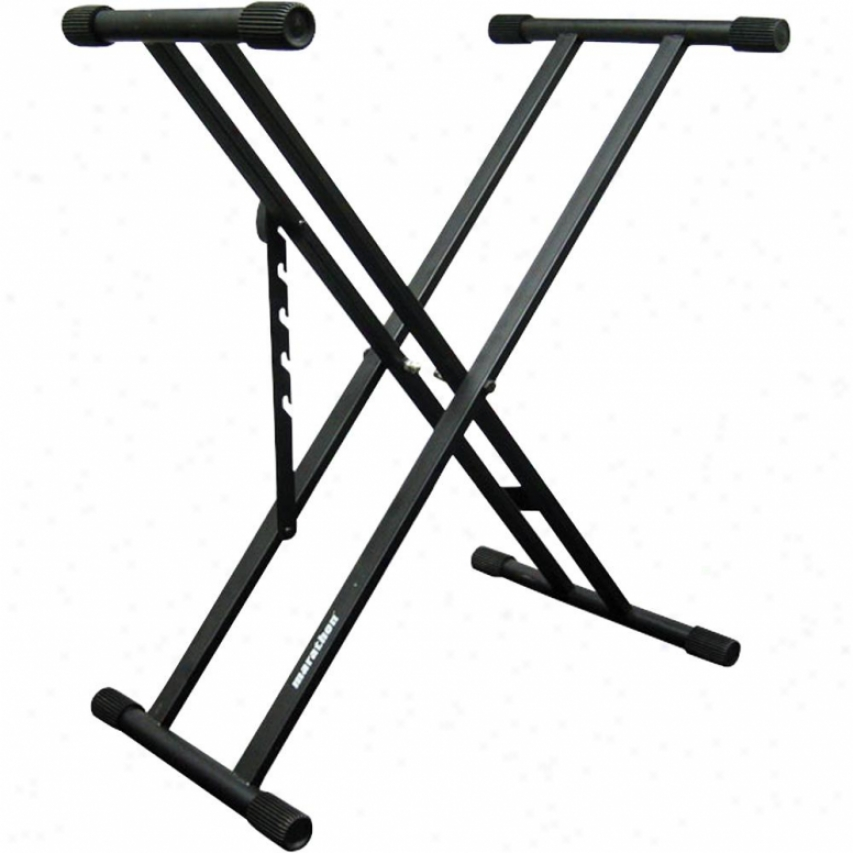 Marathon Pro Portable Dj/keyboard Stand, Double Braced In quest of Rugged Durability.