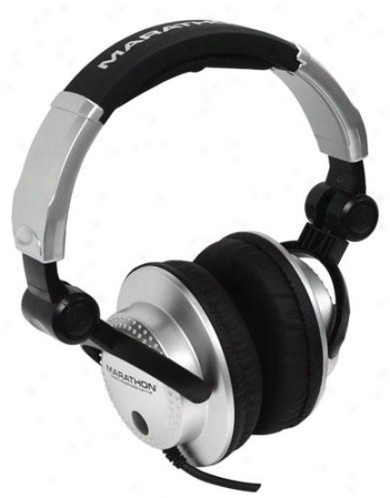 Marathon Pro Prfessional High Performance Stereo Dj Headphon3s