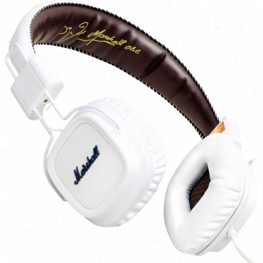 Marshall Major On-ear Headphones - White