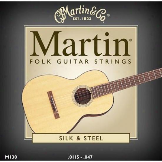 Martin Strings M130 Standard Folk Acoustic Guitar Strings