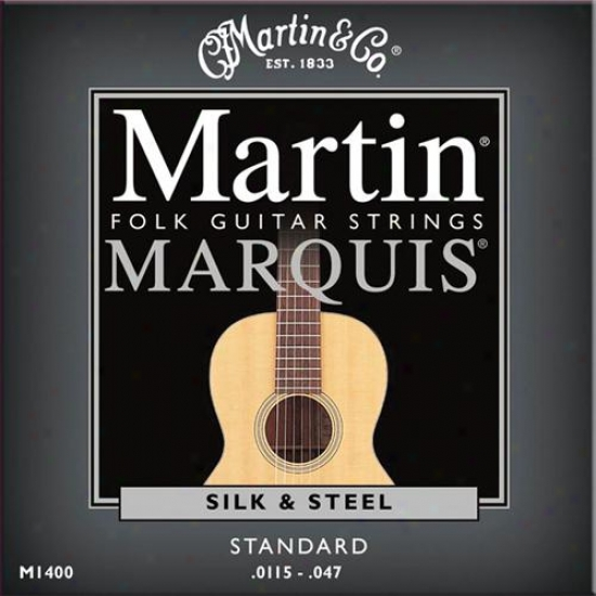 Martin Strings M14400 Marquis Acoustic Folk Guitar Strings