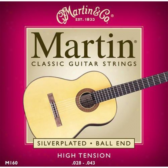 Martin Strings M160 Ball End Nylon Classical Guitar Strings