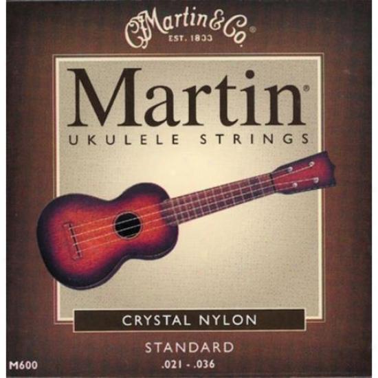 Martin Strings M600 Standard Crystal Nylon Ukulele Strings