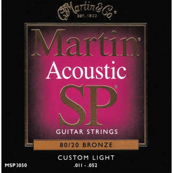 Martin Strings Msp3050 Acoustic Studio Performance Series Strings