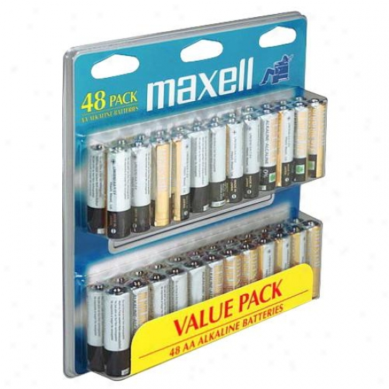 Maxell 723440 Aa Battery