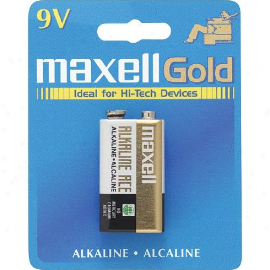 Maxell 9 Volt Battery
