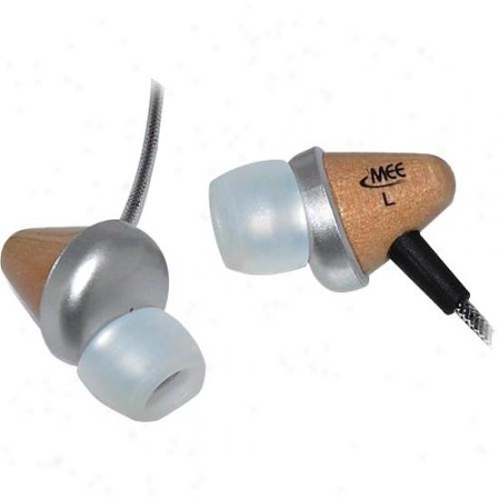 Meelectronics Cw31 Wooden In-ear Headphones