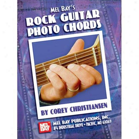Mel Bark 21046 Rock Guitar Photo Chords Book